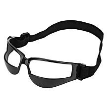 Practical Basketball Head-up Training Glasses Dribbling Goggles Sport Accessory(Black)
