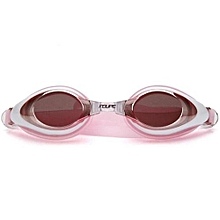 FEIUPE With Case Professional Anti Fog Swimming Goggles Coating Swim Glasses Men Gafas Natacion Armacao De Grau Masculino(Pink)