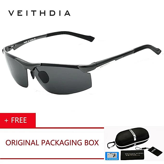 c08f378068 VEITHDIA Brand Aluminum Magnesium Sunglasses Polarized Men Coating Mirror Driving  Sun Glasses oculos Male Eyewear 6511