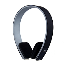 BQ618 Smart Bluetooth 4.0 Headset Wireless Headphone Earphone(BLACK)