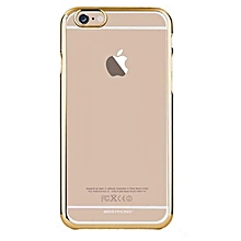 Apple iPhone 6/6s Back Cover - Clear & Gold sided