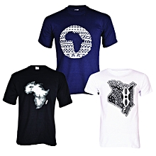 Cool T-shirt Bundle (3-in-1) - Multicolour