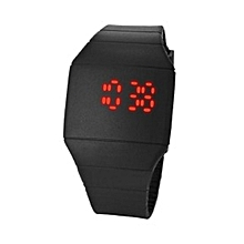 Silicone Digital Watch 6888 - Black