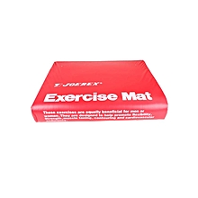 AS28525 - Exercise Mat - 162 cm x 44 cm - Red/Blue