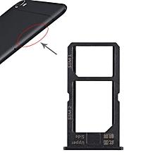 2 x SIM Card Tray for Vivo Y55(Black)