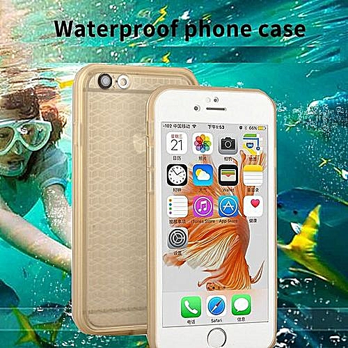 newest 877b4 ea39a Generic Generic IPhone 8 Plus Case Real Waterproof Phone Case IPhone ...
