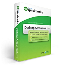 QuickBooks 2018 Accountant - Single User Full Pack