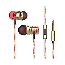 Heavy bass in-ear headphones HD MIC mobile gaming headset