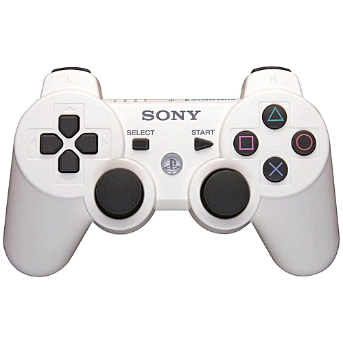 HonTai PlayStation 3 Dualshock 3 Wireless Controller (Classic White)