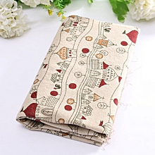 10 Vintage Europe Styles Natural Cotton Linen Fabric Cloth Sewing Craft C