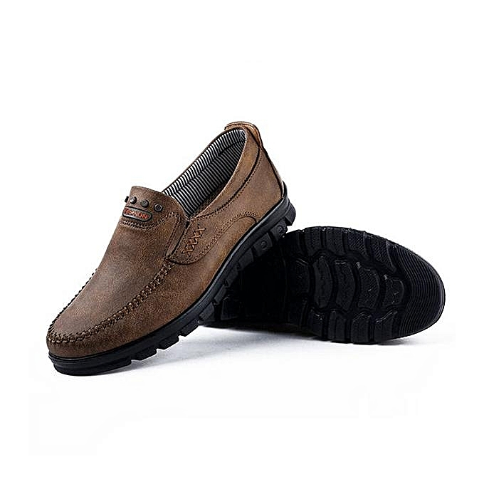 237ad9616ad Fashion Large Size Men Comfy Microfiber Fabric Soft Slip On Casual Loafers  Flat Shoes-EU ...