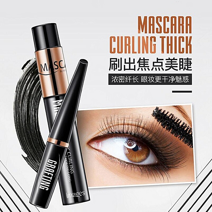 1a10b978aad ... New Natural 4D Silk Fiber eyelash Black Mascara Waterproof Long Curling  Thick Lengthening Eyelashes Extension Mascara ...