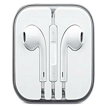 Earphones For iPhone 6 / 6S / 6 Plus /7/   - White.