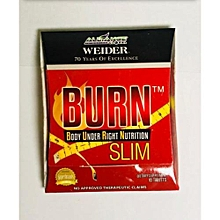 BURN SLIM WEIGHT LOSS TABLETS