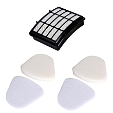 4x Vacuum Foam Filter Set For Shark Navigator Lift-away Nv350 Nv352 Nv355 Nv356