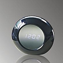 V8 HD Hidden Camera Alarm Clock Fashion Home Security Cam Loop Video Recorder Black