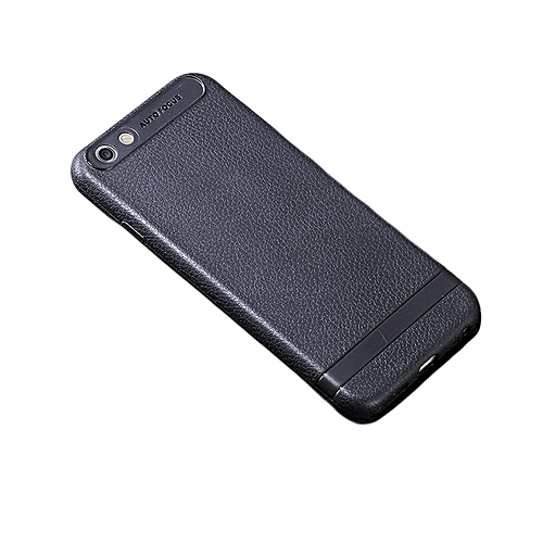 Oppo A83 Back Cover - Rubber Finish Black