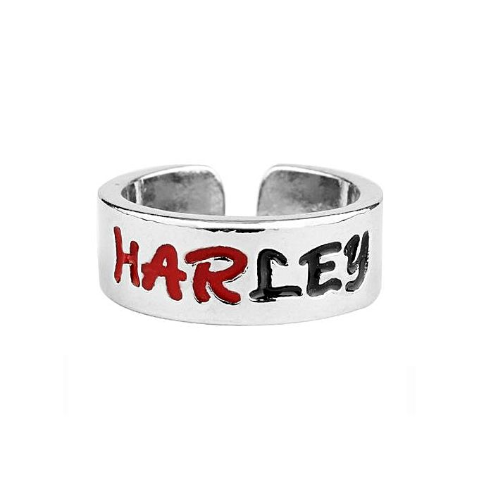 Fashion Couple Jewelry Suicide Squad Harley Queen The Joker Ring