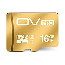 Mobile Phone Memory Card 16GB Micro SD Card TF Card High Speed - Gold