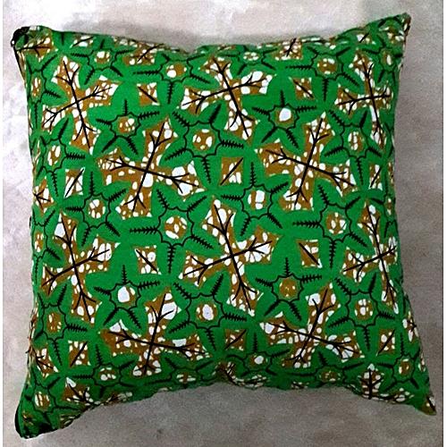 Multicolored Ankara Throw Pillow