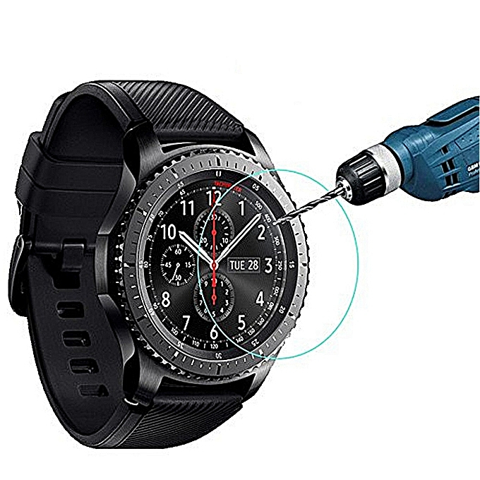 newest collection 82a95 f685a 9H Hardness Waterproof Tempered Glass Screen Protector for Gear S3 Frontier  / Classic#1