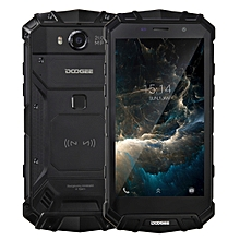 DOOGEE S60 Triple Proofing Phone, 6GB+64GB, IP68 Waterproof Dustproof Shockproof, 5580mAh Battery, Fingerprint Identification, 5.2 inch Sharp Android 7.0 MTK Helio P25 Octa Core up to 2.5GHz, Network: 4G, NFC, OTA, QI Wireless Charge(Black)