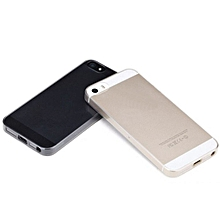 Case Ultra Thin Transparent 0.2mm Soft Back Cover Case For iPhone 5 5s- Transparent