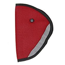 Car Safety Seat Belt Padding Adjuster For Children Kids Baby Car Protection Soft Pad Mat Safety Car Seat Belt Strap Cover Red
