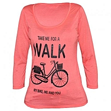 Coral Womens Printed Top