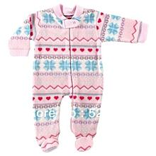 Baby Sleep & Play Pyjamas - Pink