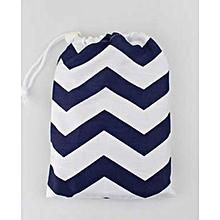Baby Breastfeeding Cover Mum Cotton Nursing Udder Apron Shawl Cloth+Storage Bag-Navy