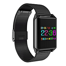 S5 Wristband Heart Rate Blood Pressure Monitor Bluetooth Smart Watch IP68 Water Proof Swim Fitness Tracker For Android And IOS Phone BDZ