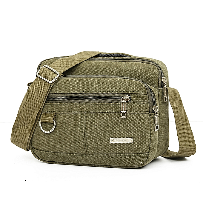 c08cb425b45c koaisd Men Canvas Bag Casual Travel Men s Crossbody Bag Men Messenger Bags  GN