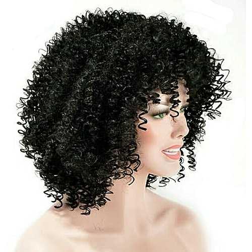 Short Curly Wig + FREE GIFT