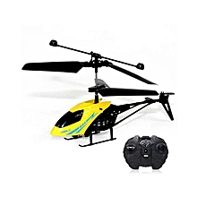 RC 901 2CH Mini  Helicopter Radio Remote Control Aircraft  Micro 2 Channel -Yellow