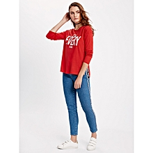 Red Standard Female T-Shirt
