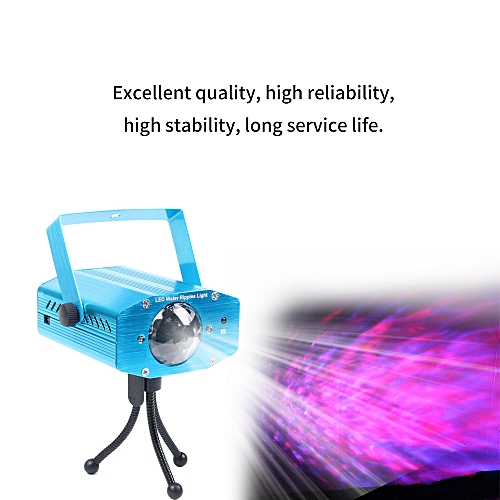 Remote LED Stage Lighting Effect Light 7 Color Ocean Lights Dynamic Water  Ripple Effect Lamp