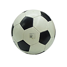 Size 5 Football Machine Stitched Soccer Football Profession - Black & White