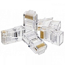 RJ45 Connectors Cat5 - Pack (100pcs)