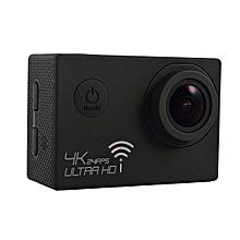 "SJ8000 Waterproof 4K Ultra HD 1080P WiFi Sports Action Camera 2"" DVR Camcorder Black"
