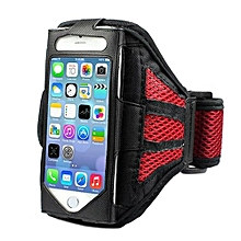 Bluelans Running Sports Mesh Arm Band Case Cover For IPhone 6/6S Red