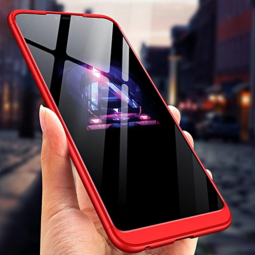 online store 4f420 62a3a For VIVO Y83 Pro Case,GKK 3 In1 Anti-Scratch Hard PC Matte 360 Full  Protection Back Cover Case For VIVO Y83 Pro 164998 (Red)
