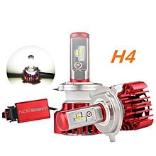 H4 60W 8000LM 6000K Headlight Kit Light Bulbs Hi/Low Beam