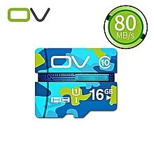 OV 16GB 32GB  MicroSD MicroSDHC Micro SD SDHC Card  Memory Card Blue White