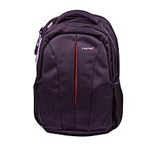 "T- B3105- Tigernu Anti Theft Backpack Splash Proof & Scratch Resistant Nylon 15.6"" Laptop Backpack - Black + Orange"