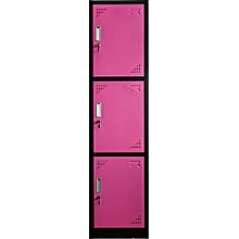 3 Doors clothes lockers wardrobe, Dimension 38*42*185cm