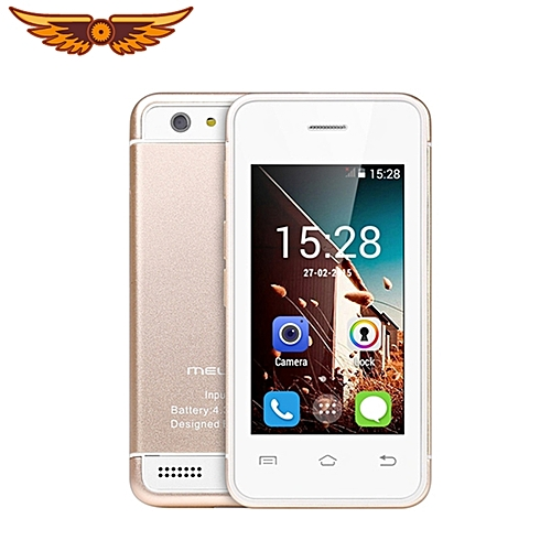 """S9 3G Smartphone Android 4.4 MT6572 2.4"""" Ultra-slim Mini Pocket Card Cell Phone"""