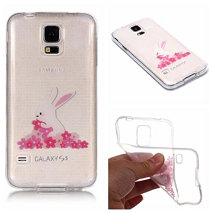 official photos 86caa ab3a3 TPU Cover Case for Samsung Galaxy S5