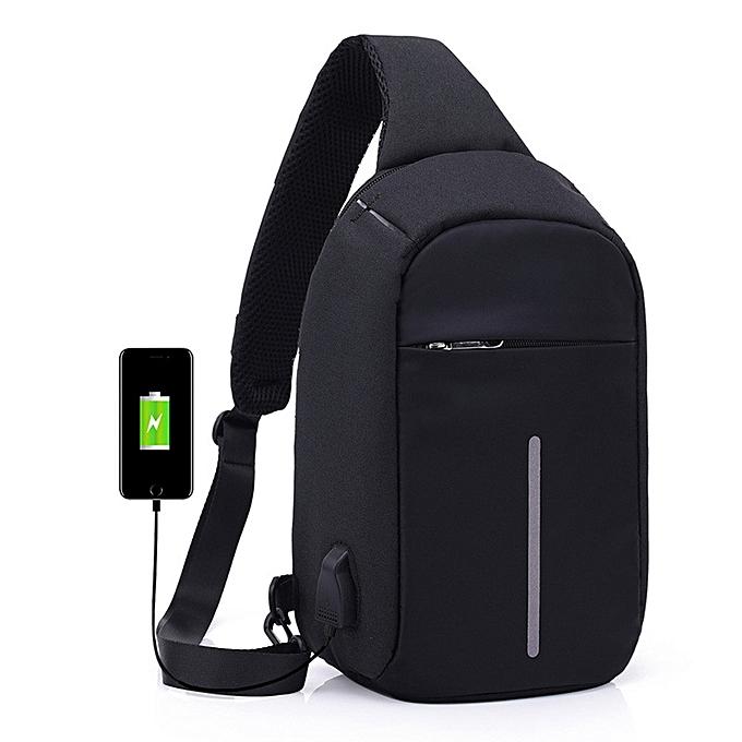2d4d5ba93b8a Laptop Backpack Crossbody Bags Anti-theft Notebook School Bag With USB Port
