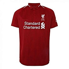 The New Liverpool 2018/2019 Home Kit Football Jersey Red